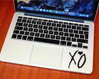 The Weeknd XO Sticker - Decal - Record Label - Weeknd - MacBook - iPhone