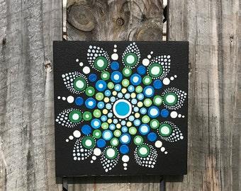 Mandala Barn Quilt Painting