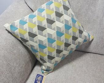 "Geometric Pattern Cushion 16x16"""