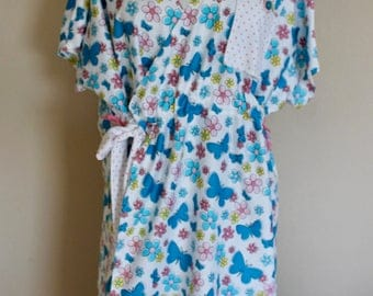 Daisies and Butterflies Maternity Gown