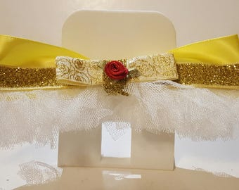 Beauty and the Beast Belle Inspired Hair Bow (FREE SHIPPING!)