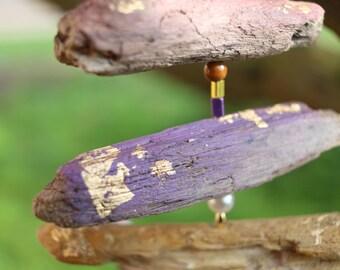 wind chimes Driftwood / / gartendeko / / wohndeko / / small gift