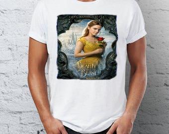 Beauty and the Beast - Bella  - Emma Watson - movie t-shirt