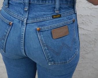 Vintage Wrangler High Waisted Denim Jeans