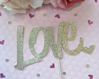 Love Cake Topper * Wedding Decorations * Wedding Cake Topper * Better Off Wed Cake Topper * Wedding Centerpiece * Wedding Decor * Topper