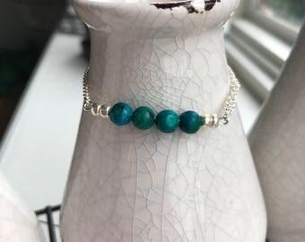 Earthy tones bracelet