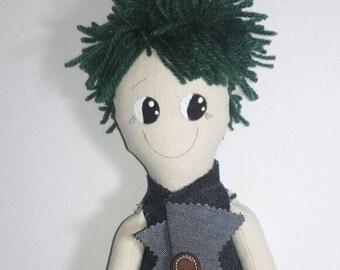 Fred Doll Handmade Craft