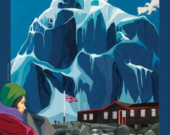 Antarctica poster – Port Lockroy