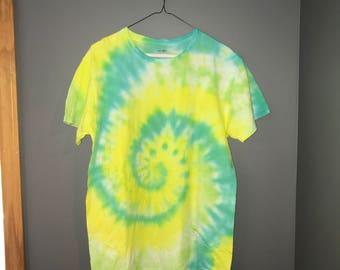 Custom Swirl Tie Dye Shirt