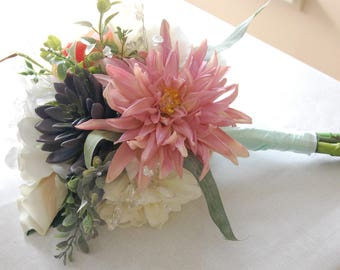 Beautiful Spring/Rustic Bridal Bouquet