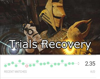 Xbox one Destiny Trials Of Osiris Flawless Account Recovery