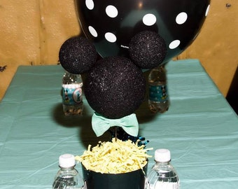 Mickey Mouse Birthday Party Centerpiece Heads (set of 8)