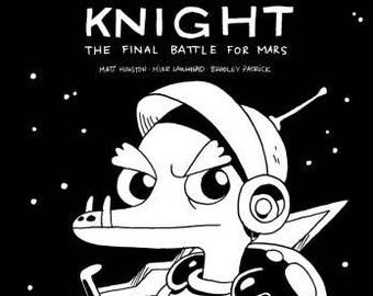 Space Dragon Knight: The Final Battle for Mars comic book