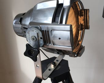 Vintage Theatre/Movie Interior Designer Lamp  for that dramatic and industrial look in the home