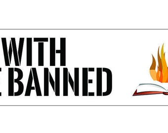 With the Banned Bookmark