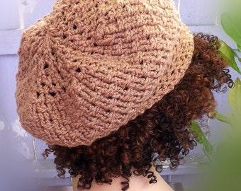 Crochet Hat Pattern, Crochet Pattern Hat, Slouchy Beanie Pattern, Womens Slouchy Beanie, SEED Beanie Hat Women, Strawberry Couture