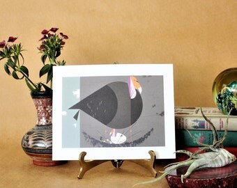 Vintage California Condor Bird Prints Charley Harper,Vintage Prints,MCM Art,Bird Ephemera Prints,Charles Harper Art,Charley Harper art print