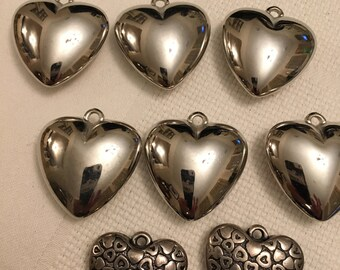 Eight Heart Pendant Beads