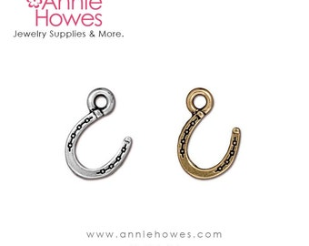 Horseshoe Charm For Your Charm Bracelet. Cowgirl Western Theme Charm.