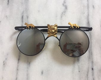 Rare Vintage Cat Sunglasses by Mercura NYC.