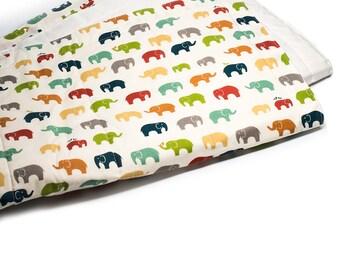 CLEARANCE Organic Quilt | Elephants
