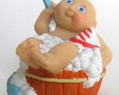 Cabbage Patch Kid CPK Mini Figurine Doll