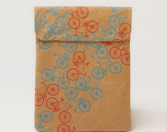 City Bikes Pattern iPad & Tablet Paper Sleeve