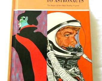 Vintage Children's Book - From Actors to Astronauts -  How to read in the subject-matter areas - Hardcover - 1964