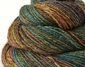 Handspun Yarn - Silk and Yak Yarn - Luxury Yarn - 1.4oz, 230yd, 19WPI, Lace