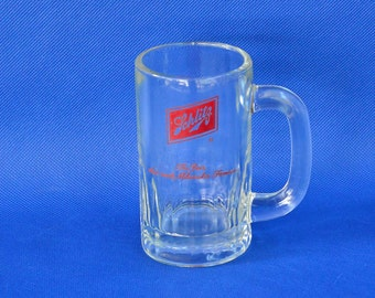 "Schlitz Beer Mug - 10 Ounce - ""The Beer That Made Milwaukee Famous"" Vintage Beer Advertizing"
