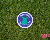 Fat Merbabe - Girth Guides patch for fat activists