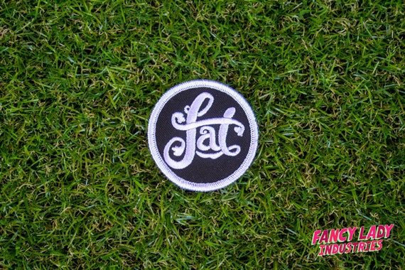 Fat - Girth Guides patch for fat activists