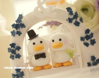 ducks Wedding Cake Topper
