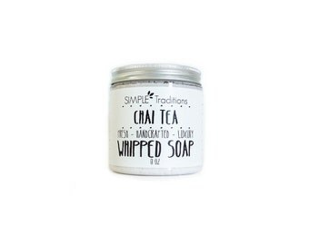 Whipped Soap Chai Tea Vegan Body Wash