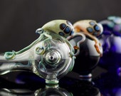 Octopus Pipe / Octopus Glass Pipe / Glass Spoon Pipe / Boro Pipe / Hand Pipe / Glass Smoking Bowl / You Choose the Color / Made to Order