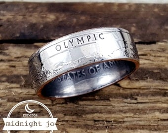 Olympic Coin Ring National Park Quarter Your Size MR0705-TNPOL
