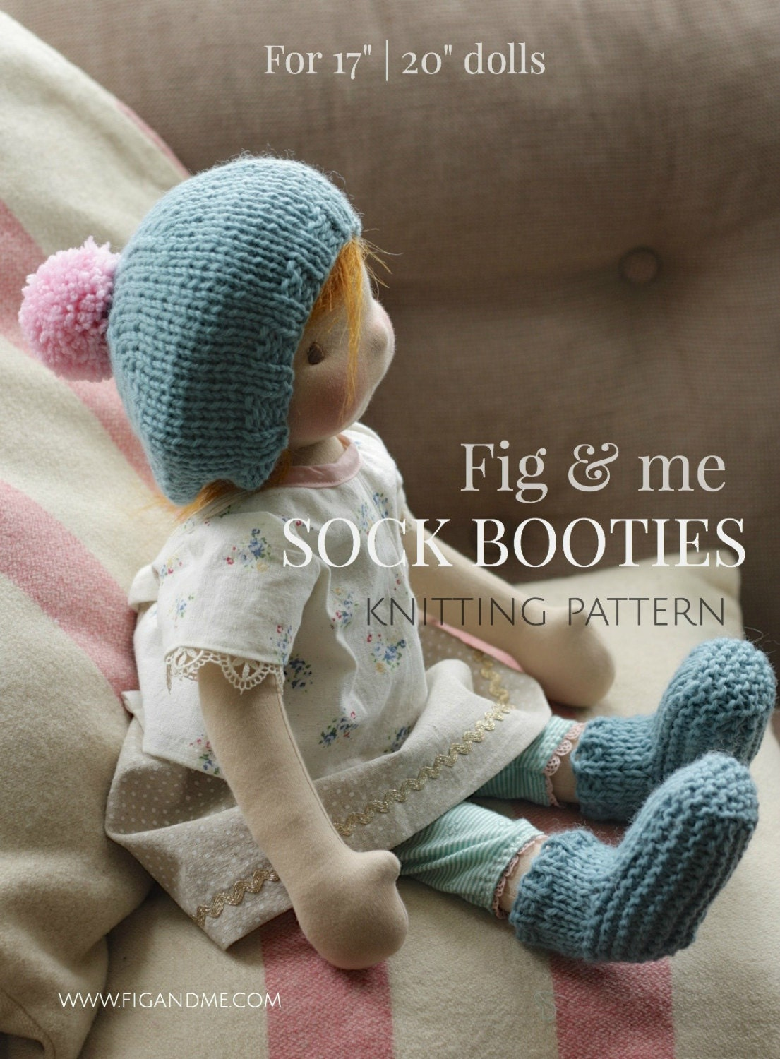 Knitting Patterns For Waldorf Dolls : Doll clothing knitting pattern Waldorf Style Doll clothes
