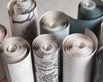 Wallpaper Samples, 6 wallpaper samples in pack, Discount code included