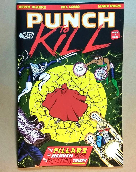 Punch to Kill #2 comic book