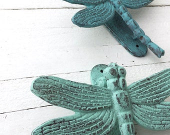 Dragonfly Door Knocker, Front Door Decor, Iron Wall Decor, Copper Home, Garden Decor, Anthropologie Home, Garden Green, Insect Door Knocker