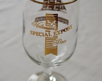 Vintage Heileman's SPECIAL EXPORT Beer fancy glass 1960's 70's