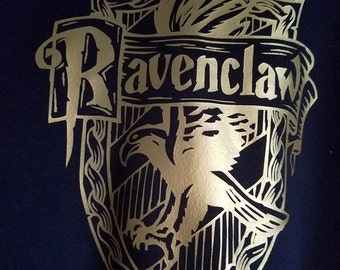 Hogwarts House (Ravenclaw) Inspired Hooded Sweatshirt by BKCC