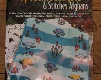 2008 crochet patterns Special Techniques & Stitches Afghans