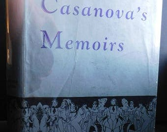 RARE 1930 Casanova's Memoirs Illus. by Vincente Minelli - Beardsely-Style Illustrations by Meet Me in St. Louis Director