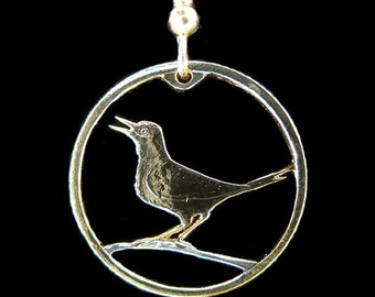 Cut Coin Jewelry - Earrings- Croatia - Nightingale