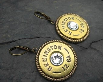 Shotgun Shell Earrings - Bullet Earrings - Dangle Earrings G4