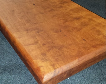 Curly Cherry Wood Cutting Board - Cheese Board