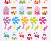 Crux Candy Sweets Sticker Sheet