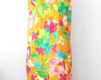 Vintage Shift Dress • Charlotta of California Dress • Resort Wear Sleeveless
