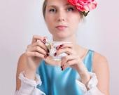 White Ruffled cuffs/Hand made Hand pleated cuffs/White cuffs/detachable cufs/Fabric Cuff/ Bride cuff/ Marina Astafyeva